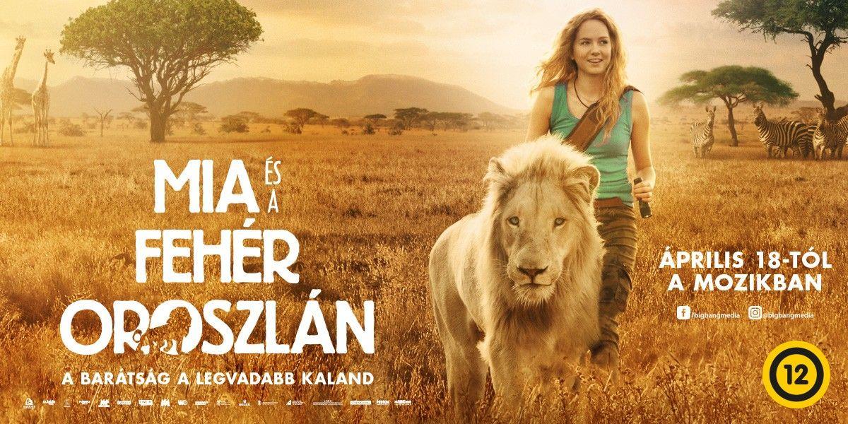 📷 Mia és a fehér oroszlán