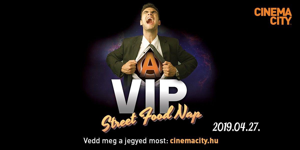 ► Street food Nap a Cinema City Aréna VIP részlegén