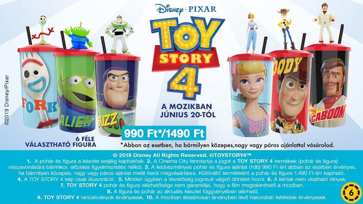  Toy Story 4 büfé ajánlat